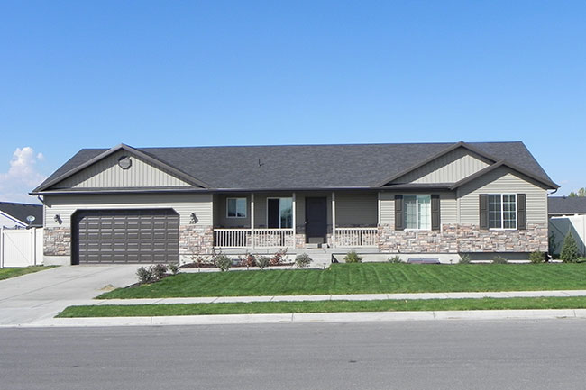 one level home logan utah